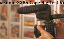 Panasonic GX85 Cage Rig Test Video