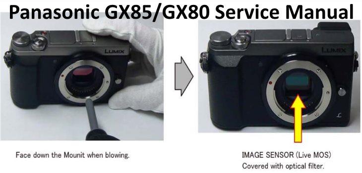 Panasonic GX85 GX80 Repair Service Manual