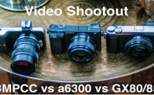 Panasonic GX85 vs Sony a6300 vs BlackMagic Pocket