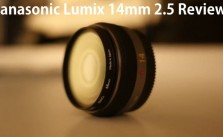 Panasonic Lumix 14mm 2.5 Review Video