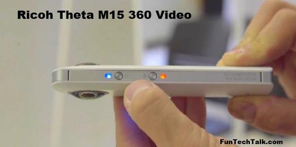Ricoh Theta M15 test video