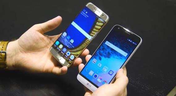 Samsung Galaxy S7 and Edge vs. LG G5