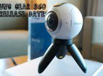 Samsung Gear 360 Release Date