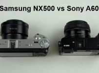 Samsung NX500 vs Sony A6000 video compare