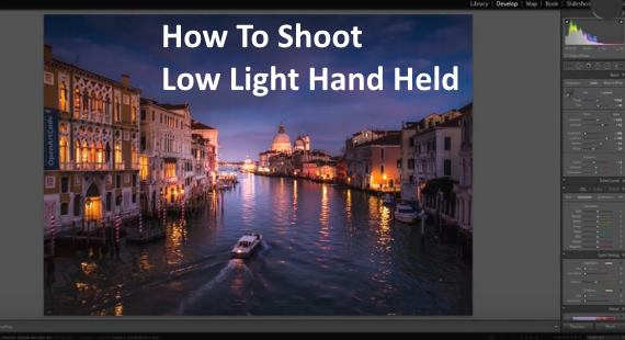Shoot Low Light Lightroom tips