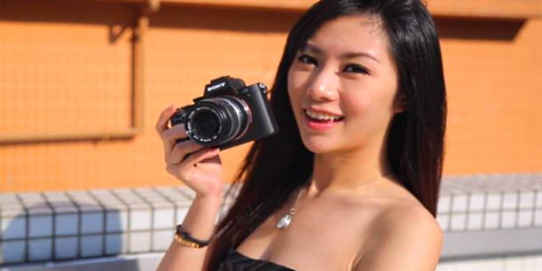 Sony A7 II Hands-On Review hot girl