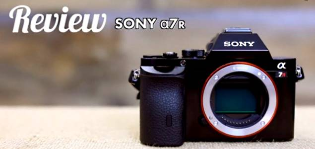 Sony A7r Camera Video Review