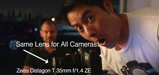 Sony A7s vs GH4 vs C100 vs 5D Mark III low light