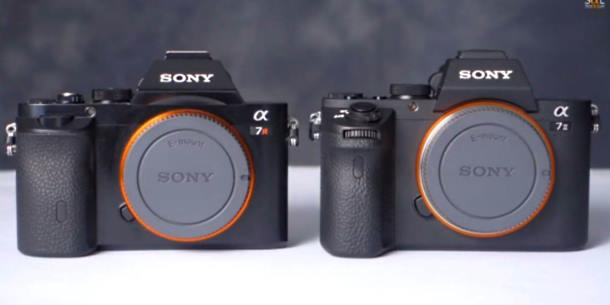 Sony Alpha A7r vs New Alpha A7II video