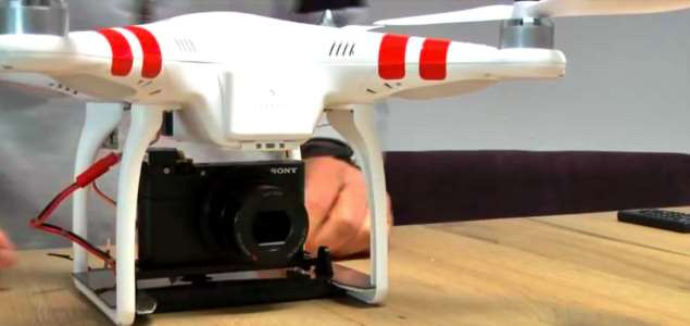 Sony RX100 camera DJI Phantom