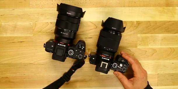 Sony a7II vs Sony a7S Comparison look video