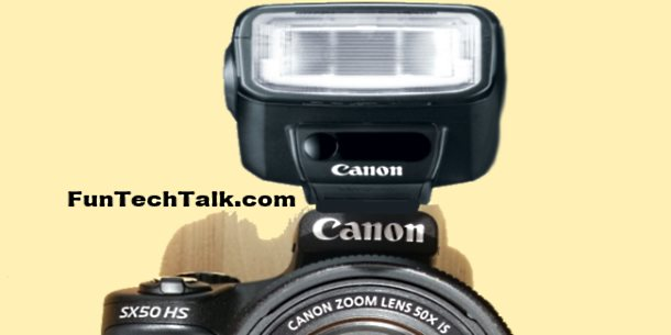 Speedlite Flash for Canon PowerShot SX50 HS