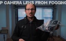 Stop camera lens fogging