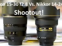 Tamron 15-30 f2.8 Vs. Nikkor 14-24 f2.8 lens review