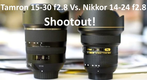 Tamron 15-30 f2.8 Vs. Nikkor 14-24 f2.8 lens review
