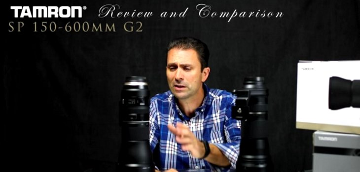 Tamron sp 150-600mm g2 vs first old version