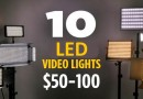Top 10 LED Lights for Video under $100