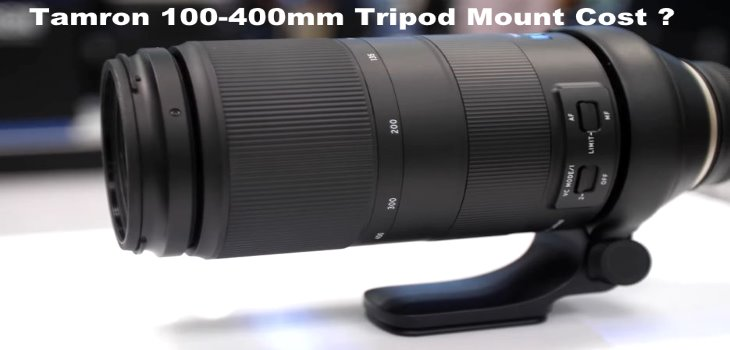 Tripod Mount for Tamron 100-400mm f4.5-6.3 Di VC
