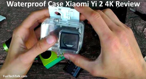Waterproof Case Xiaomi Yi 2 4K Review