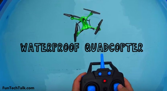 Waterproof quadcopter JJRC H31 review test