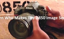 Who makes Nikon D850 image Sensor