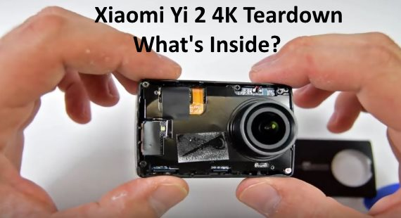 Xiaomi Yi 2 4K teardown inside