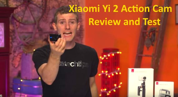 Xiaomi Yi II 2 4K Action Cam Review And Test