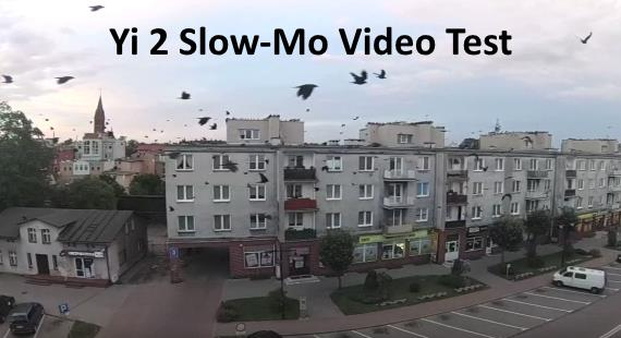 XIAOMI Yi 2 4k Action Camera Slow Motion Video Test 200 fps Footage
