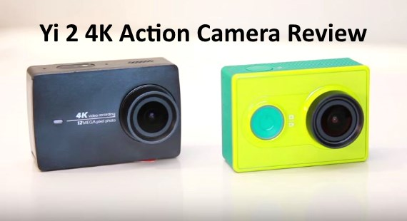 Yi 2 4K Action Camera Review Test