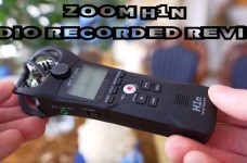 Zoom H1n Audio Recorded Review Test