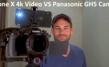 iPhone X 4k Video VS Panasonic GH5 Mirrorless Camera