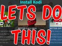 install Kodi video