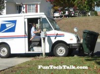lazy mailman