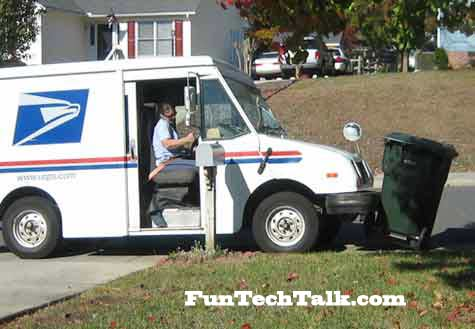 lazy mailman