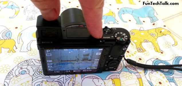 rx-100m3 fix veiwfinder