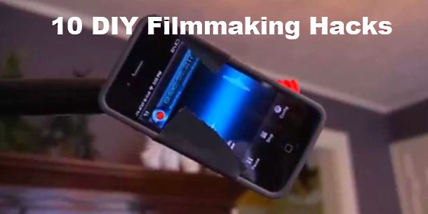 10 DIY film making hacks