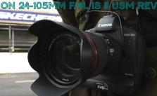 24-105mm f4L IS II USM Review Video