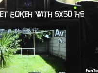 Bokeh from SX50 HS