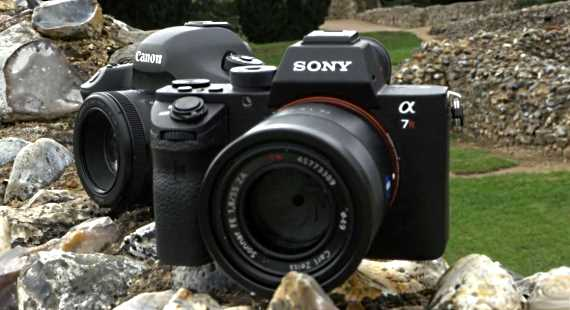 Canon 5Ds R vs Sony a7R II video