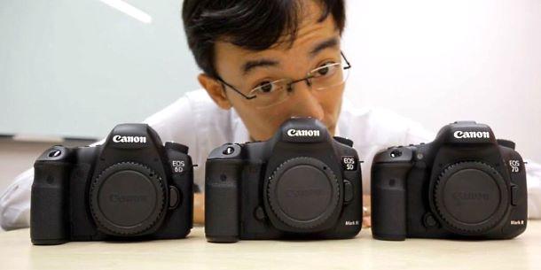 Canon 7D Mark II vs 5D Mark III vs 6D video