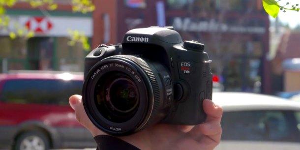 Canon Rebel T6i test video