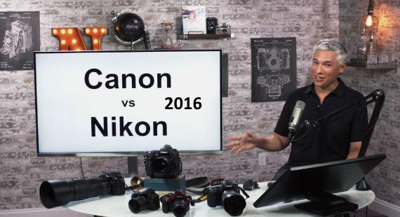 Canon vs Nikon 2016