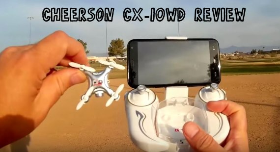 Cheerson CX-10WD Review Test Video