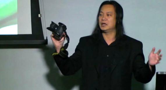 Gene Ho Fisheye lens training