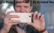 Google Pixel 2 and Pixel 2 XL In Hand Review Video