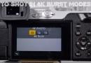 How To Shot In 4K Photo Burst Modes Panasonic GX85 GX80