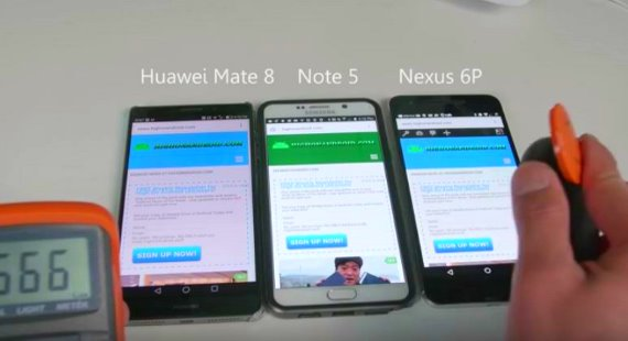 Huawei Mate 8 vs Note 5