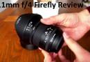 Irix 11mm f4 Firefly Review Video