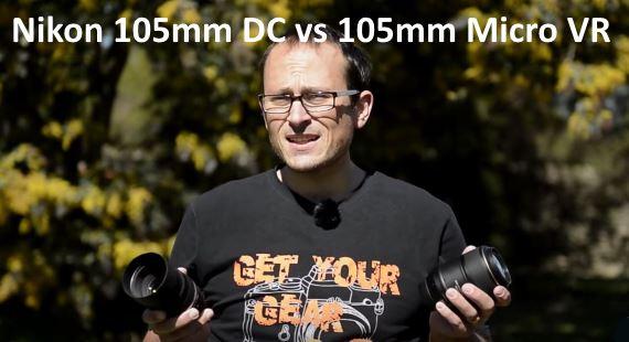 Nikon 105mm DC vs 105mm Micro VR