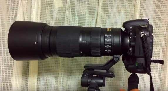 Nikon 200-500mm f 5.6E VR lens test